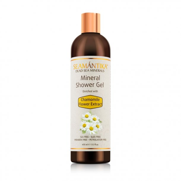 MINERAL SHOWER GEL - CHAMOMILE FLOWER EXTRACT 400 ml